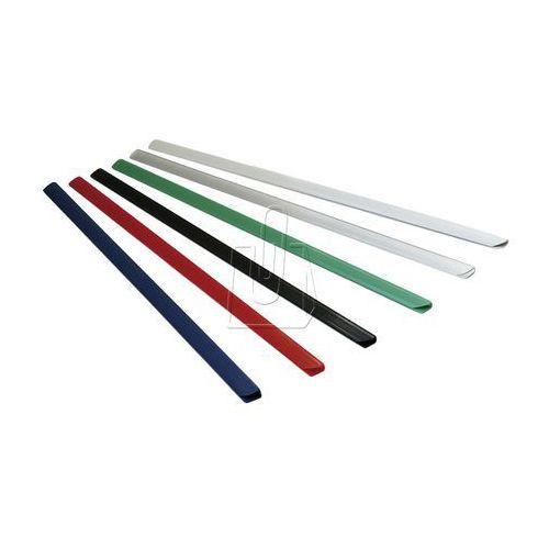 Listwy (grzbiety) wsuwane standard 4mm 50 sztuk białe