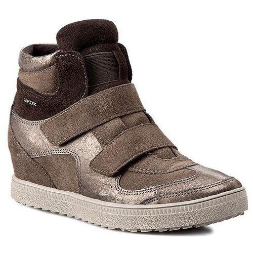 Geox Sneakersy - d amaranth h. b d52s9b 022al c1b9h dove grey/lead