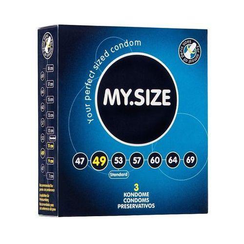My.size (ge) My.size - prezerwatywy lateksowe 49 mm (3 szt.) (4025838820121)