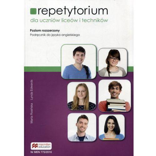 Matura Repetytorium Advanced. Książka ucznia (wersja marcowa 2016) - Edwards Lynda, Rosińska Marta, Lynda Edwards|Marta Rosińska