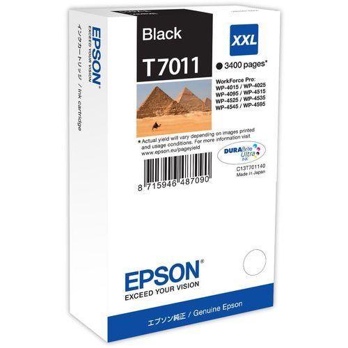 Tusz T7011 Czarny XXL do serii WorkForce WP4000/4500 (3.4k)