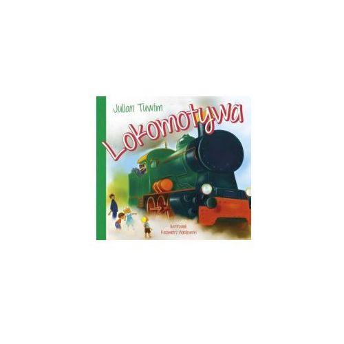 Lokomotywa-Julian Tuwim książeczka dla dzieci twarda oprawa