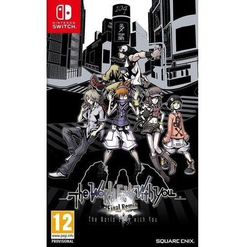 Square enix The world ends with you: final remix - nintendo switch - rpg