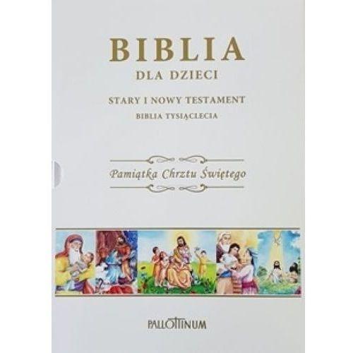 Biblia dla dzieci. Pamiątka Chrztu Świętego, oprawa twarda