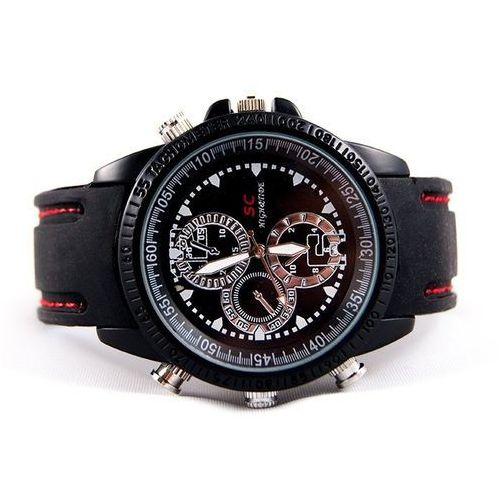 Kamera szpiegowska ukryta w zegarku zegarek HD Pamięć wewnętrzna 16GB Rozdzielczość FOTO: 1.3 Mpx 1280 x 1024 p Rozdzielczość nagrań wideo HD 720p 30kl/sek - oferta (05642973c7d114ba)