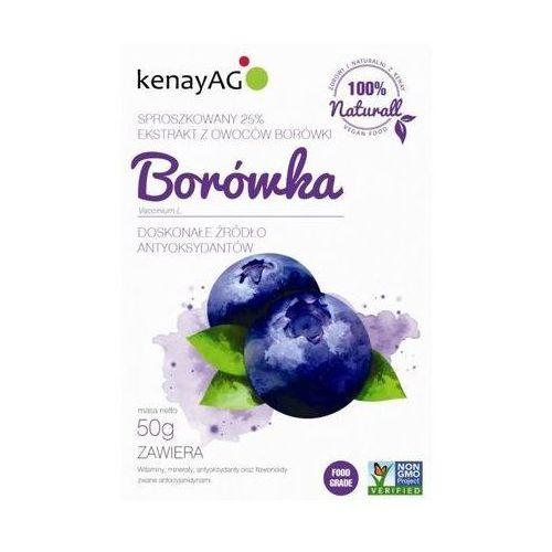 Borówka sproszkowany ekstrakt 50g marki Kenay ag