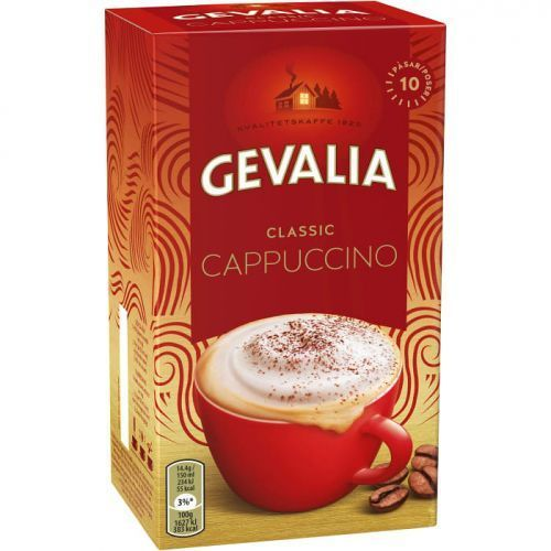 Gevalia - classic - kawa cappuccino - saszetki - 10x14,4g