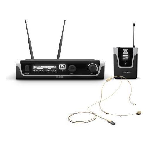 Ld systems u506 uk bphh mikrofon bezprzewodowy nagłowny, kolor cielisty
