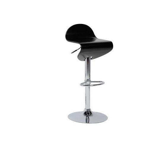 Hoker czarny - hoker barowy - krzesło barowe -LIVERPOOL