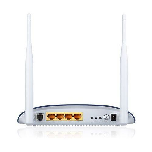 TP-LINK W8960N router ADSL2+ WiFi N300 (2.4GHz) 1xRJ11 4x10/100LAN 2x3dBi (SMA) Annex A - sprawdź w wybranym sklepie