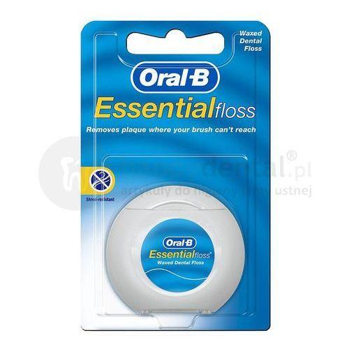 essentialfloss 50m nić dentystyczna woskowana e253 marki Oral-b