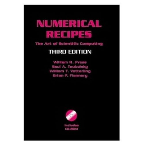 numerical recipes source code cd rom 3rd edition the art of scientific computing