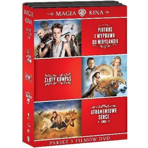 Kolekcja: piotruś. wyprawa do nibylandii / złoty kompas / atramentowe serce (dvd) - darmowa dostawa kiosk ruchu marki Joe wright