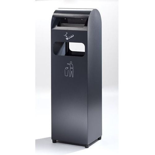 Popielniczka combi, poj. pojemnika na odpady 31,5 l, poj. popielniczki 3 l, wys. marki B2b europe