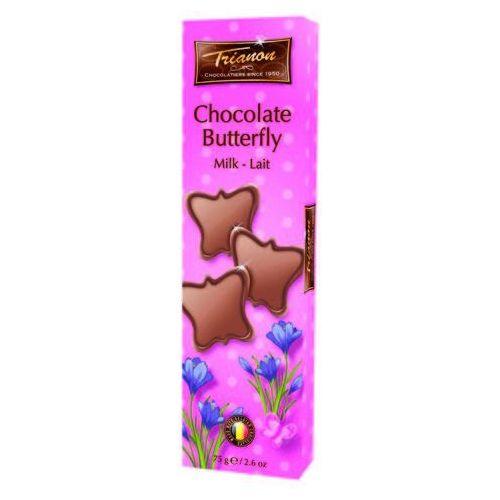 Trianon czekoladowe motyle z mlecznej czekolady 75g