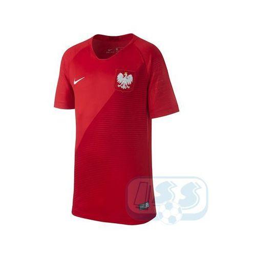 Rpol19j: polska - koszulka junior marki Nike