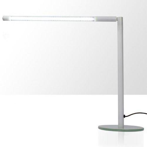 Lampka na biurko LED 4W - rurka - biała, Splendore