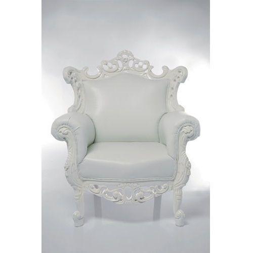 Kare Design White Angel Mink Fotel Biały Skóra Ekologiczna (9822), marki Kare Design do zakupu w sfmeble.pl