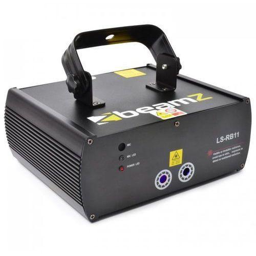 Beamz Ls-rb11 gobo dmx laser czerwono-niebieski