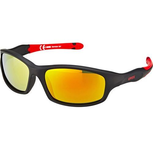 Uvex sportstyle 507 kids okulary rowerowe dzieci czarny 2018 okulary przeciwsłoneczne dla dzieci