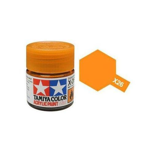 Tamiya Farba akrylowa - x26 clear orange gloss / 10ml 81526