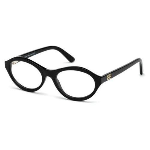 Okulary korekcyjne ba5086 001 marki Balenciaga