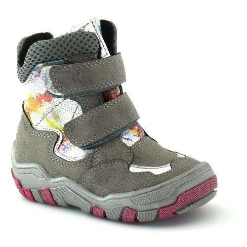 Buty zimowe dla dzieci Kornecki 06050, kolor szary