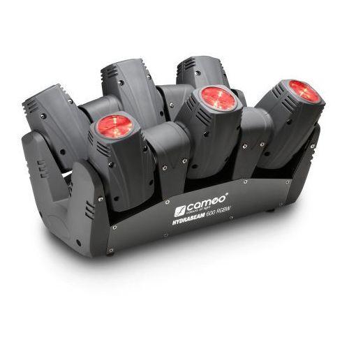 Cameo hydrabeam 600 rgbw - listwa oświetleniowa wyposażona w 6 lamp par cree rgbw quad led 10w