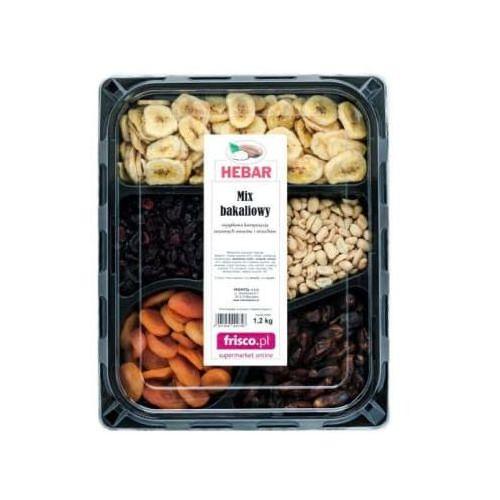 Hebar Mix bakaliowy (banan, żurawina, orzech, daktyl, morela) (5901954000748)