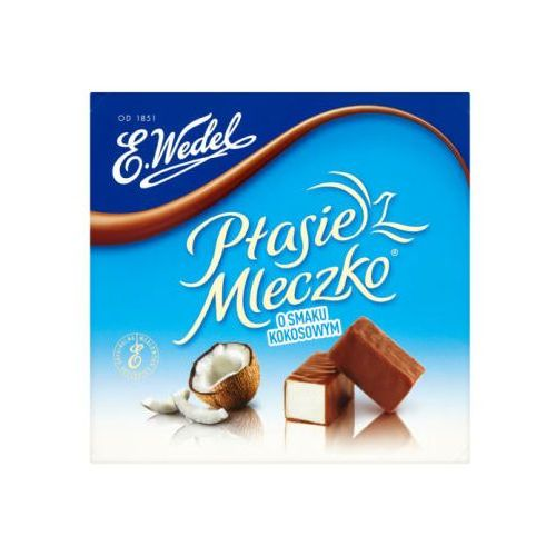 E. WEDEL 380g Ptasie Mleczko o smaku kokosowym   DARMOWA DOSTAWA OD 150 ZŁ! (5901588057323)