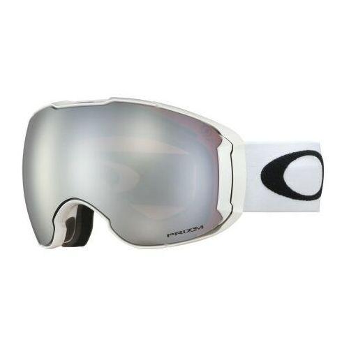 Gogle airbrake xl polished white prizm black & prizm hi pink oo7071-12 marki Oakley