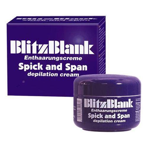 Blitz blank niemiecki krem do depilacji krocza 125 ml 620084 marki Symero-products