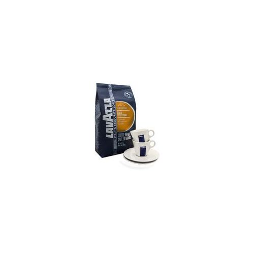 Lavazza Gold Selection 5 x 1 kg + 2 filiż. Espresso, 17DB-38168-01