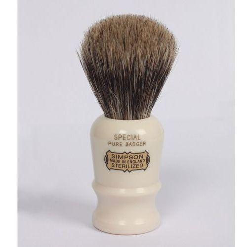 SIMPSONS - SPECIAL S1, Pure Badger, pędzel do golenia