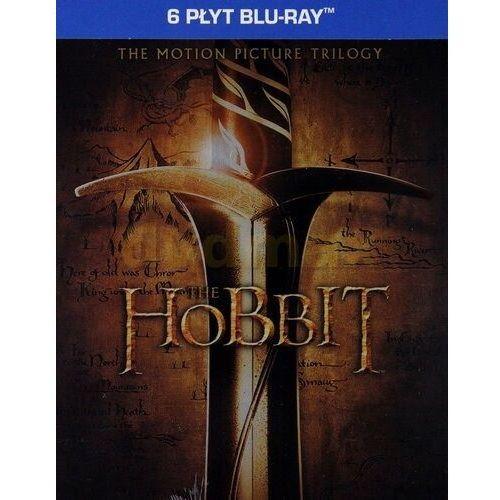 Hobbit: Filmowa trylogia Edycja limitowana steelbook (6xBlu-Ray) - Peter Jackson DARMOWA DOSTAWA KIOSK RUCHU