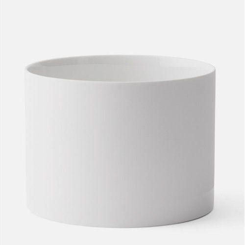 Donica Cylindrical L, biała - Menu