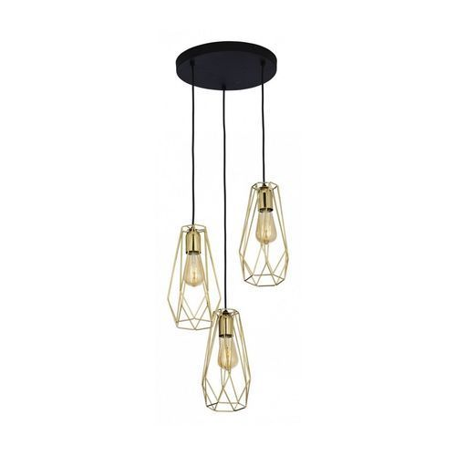 Tk lighting 2697 - żyrandol na lince lugo 3xe27/60w/230v