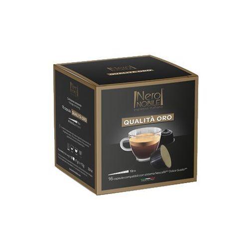 Nero nobile Kapsułki do nescafe dolce gusto* złota jakość/qualita oro 16 kapsułek - do 18% rabatu przy większych zakupach oraz darmowa dostawa