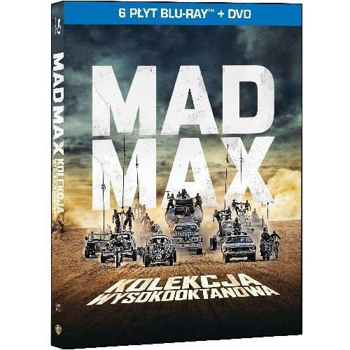 Mad Max. Kolekcja wysokooktanowa (Blu-ray) - George Miller DARMOWA DOSTAWA KIOSK RUCHU (7321999344849)