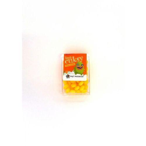 Pięć przemian Cuksy pomarańczowe – cukierki bezcukrowe z ksylitolem 13g