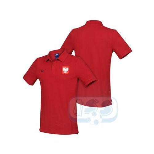 Bpol150: polska - koszulka polo marki Nike
