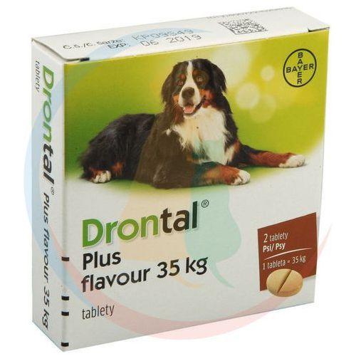 Bayer Drontal tabletki odrobaczające dla psa dużych ras 2szt
