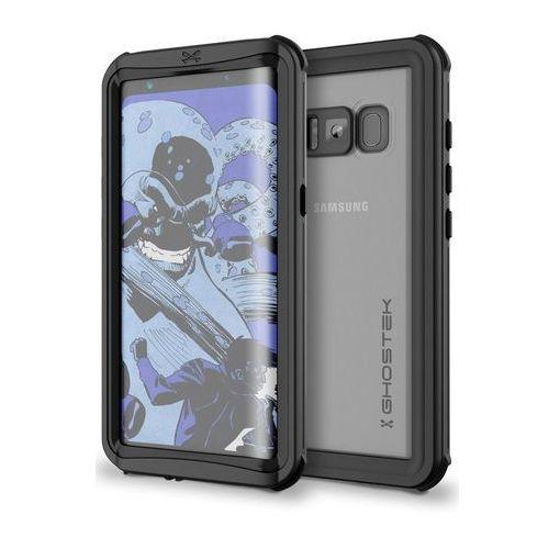 Wodoszczelne Etui Ghostek Nautical do Samsung Galaxy S8 Czarne, kolor czarny