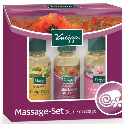 KNEIPP Olejki do masażu - zestaw upominkowy (3x20ml) (4008233106595)