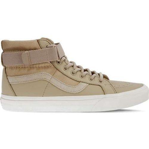 Vans sk8 hi reissue strap ub5 suede leather ballistic cornstalk - buty sneakersy (0191932855582)