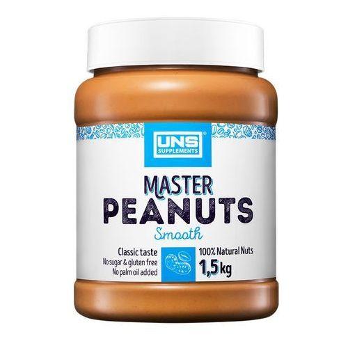 Masło orzechowe master arachidowe smooth 1500g najlepszy produkt marki Uns