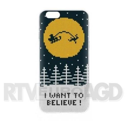 Flavr coque case ugly xmas sweater believe iphone 6/6s (kolorowy)