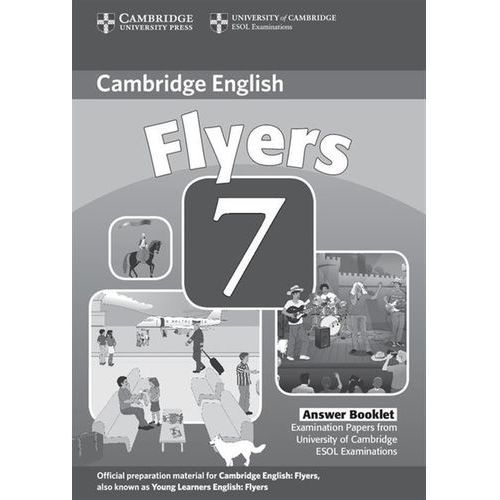Cambridge Young Learners English Tests Flyers 7 Answer Booklet, Cambridge ESOL