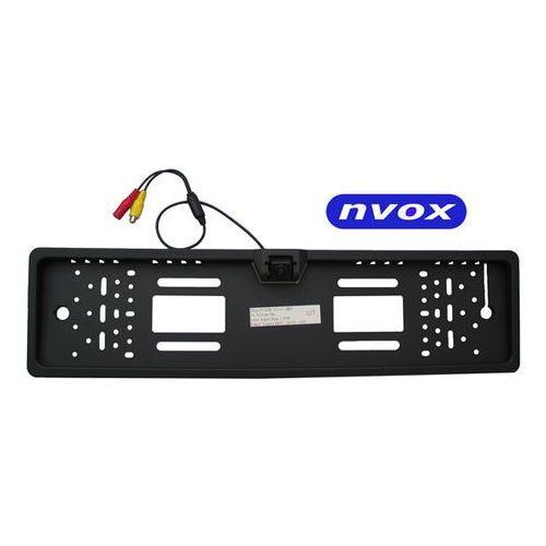Nvox  rc 5072 samochodowa kamera cofania ccd wbudowana w ramkę rejstracyjną (5901867721228)