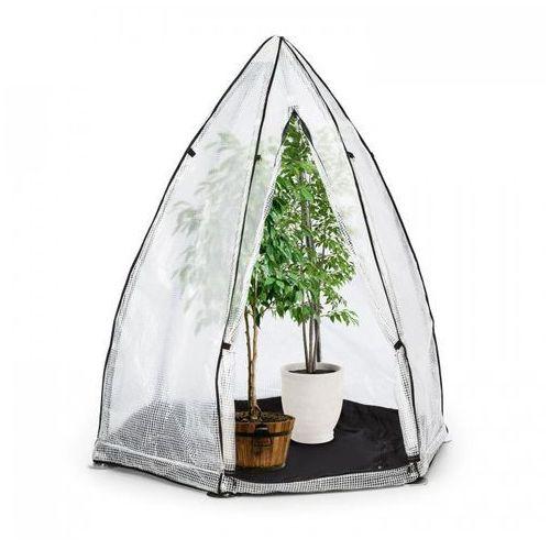 Waldbeck greenshelter s szklarnia zimowa 130x150cm rura stalowa Ø 25mm pcw